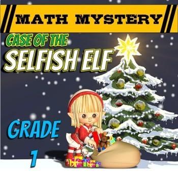 Christmas Math Activity: Christmas Math Mystery -Case of T