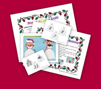 Christmas Math Activity K.CC.6 and K.CC.7