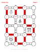 Christmas Math: Adding Unlike Fractions Maze