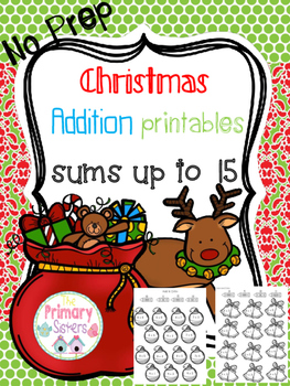 Christmas Math Addition Activities