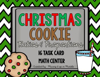 Christmas Math Center FREEBIE:  Ratios & Proportions with