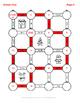 Christmas Math: Combining Like Terms Maze