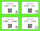 Christmas Math: Comparing Decimals QR Code Task Cards