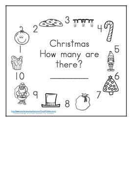 Christmas Math Counting Books