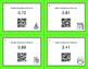 Christmas Math: Decimals to Percents QR Code Task Cards