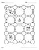 Christmas Math: Dividing Decimals Maze