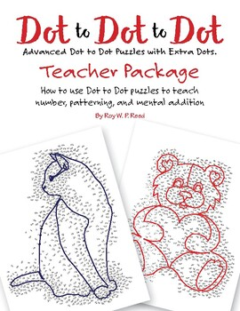 Free Teacher Package Dot to Dot Skip Count by 1, 2, 3, 4,