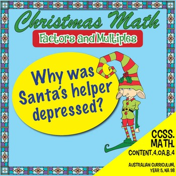 Christmas Math - Factors and Multiples