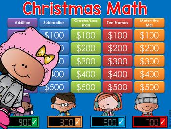 Christmas Math 1st & 2nd Gr