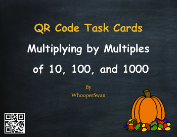 Autumn Math: Multiplying by Multiples of 10, 100, and 1000