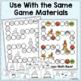 Christmas Math Freebie  - One Game, Three Skills!