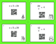 Christmas Math: One Step Equations (Mixed Operations) QR C