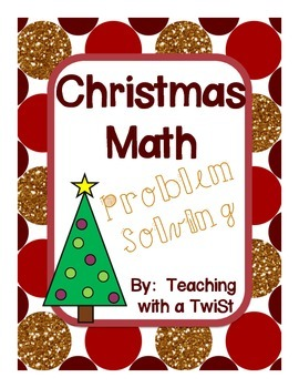 Christmas Math Problem Solving