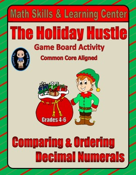 Christmas Math Skills & Learning Center (Compare & Order D