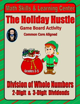 Christmas Math Skills & Learning Center (Division with 2-