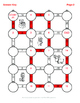 Christmas Math: Subtracting Integers Maze