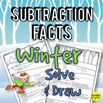 Winter Math: Subtraction