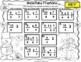 Christmas Math Task Cards for 4th Grade: Fractions: Math C