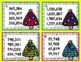 Christmas Math Task Cards for 4th Grade: Ordering Numbers: