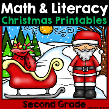 Christmas Math and Literacy No-Prep {2nd Grade}