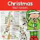 Christmas Math and Literacy Centers Bundle
