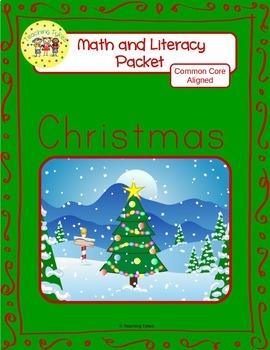 Christmas Worksheets Emergent Reader Task Cards