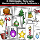 Christmas Measurement Activity: Measuring in Inches and Ce