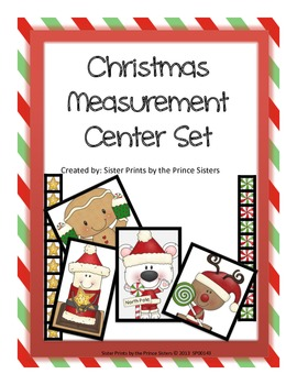 Christmas Measurement Center Set