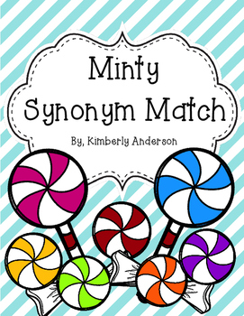 Christmas Minty Synonyms Match