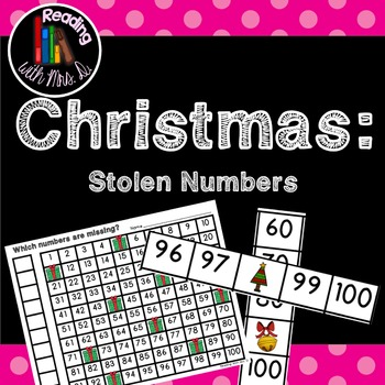 Christmas Missing Stolen Numbers