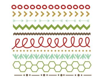 Christmas Mix Borders Set #125