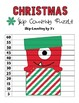 Christmas Monsters 2 to 12 Skip Counting Puzzles