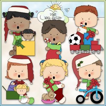 Christmas Morning  Clip Art 2 - Christmas Clip Art - CU Cl