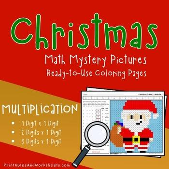 Christmas Math Multiplication, Christmas Multiplication Co
