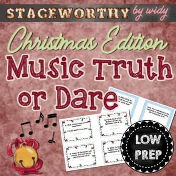 Christmas Music Game - Holiday Music Truth or Dare for Jun