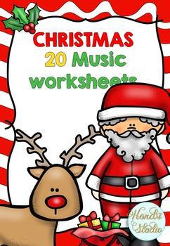 Christmas Music Worksheets