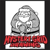 Mystery Grid Drawing - Hypno-Santa