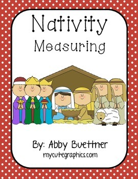 Christmas Nativity Measuring