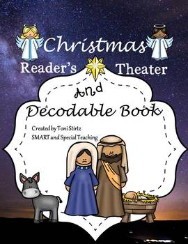 Christmas Nativity  Story Reader's Theater and Decodable M