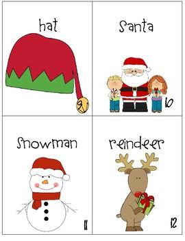 Christmas Noun Scavenger Hunt