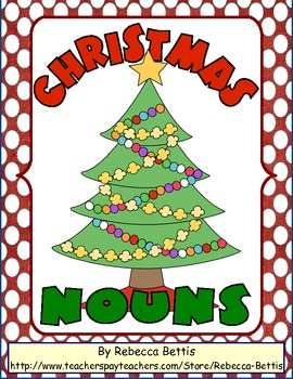 Christmas Nouns Worksheet