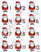 Christmas Math : Number Cards 1-20
