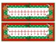 Christmas Number Lines     0 - 10 & 0 - 20