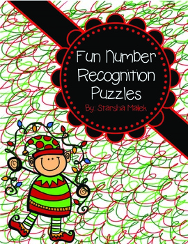 Christmas Number Puzzles (S.Malek Freebie)