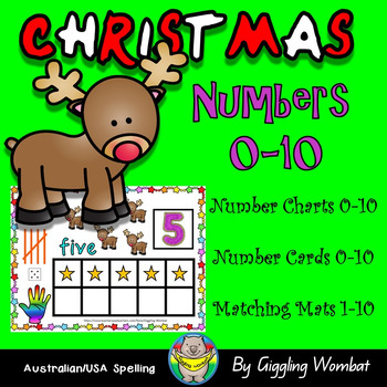 Christmas Numbers 1-10