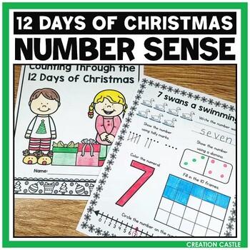Christmas Math Numbers to 12