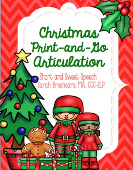 Christmas Print-and-Go Articulation