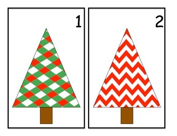 Christmas Ornament Counting 1-10