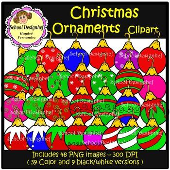 Christmas Ornaments ( School Design )