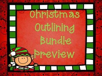 Christmas Outlining Bundle